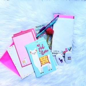 Other - Llama Journal & Sationary Set